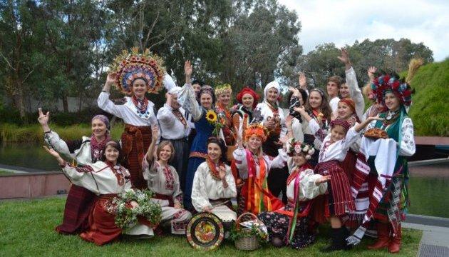У столиці Австралії День гармонії відзначили показом українських вишиванок
