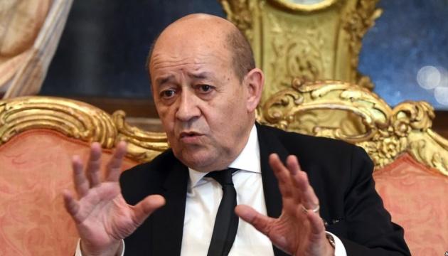 Le Drian: Ministros de los países del Cuarteto de Normandía acuerdan continuar las conversaciones en unas pocas semanas