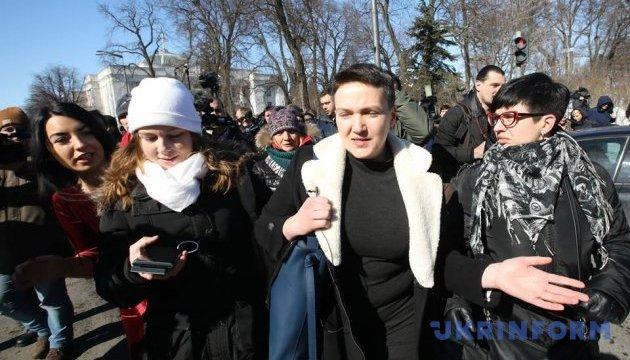 В Шевченковский райсуд поступило ходатайство о мере пресечения для Савченко