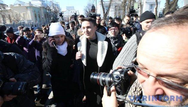 Эту ночь Савченко проведет в СБУ - адвокаты