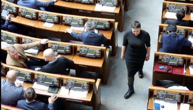 Як депутати голосували за арешт Савченко