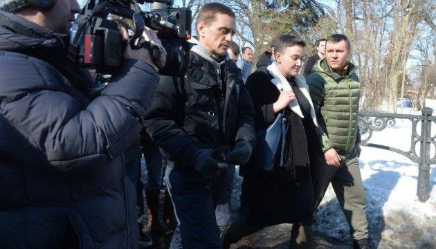 СБУ задержала Савченко