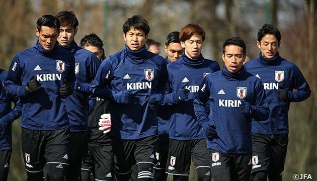 Збірна Японії з футболу провела відкрите тренування напередодні зустрічі з Малі