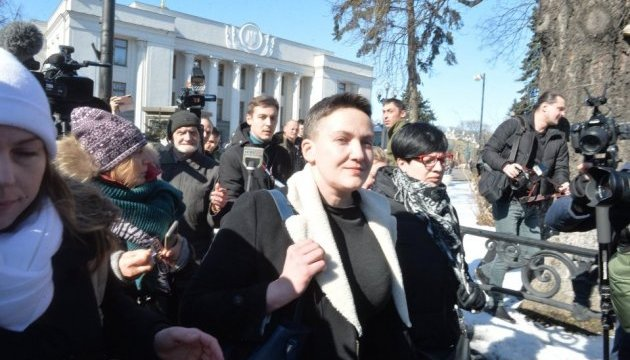 Court could decide on pretrial restraint for Savchenko on Friday