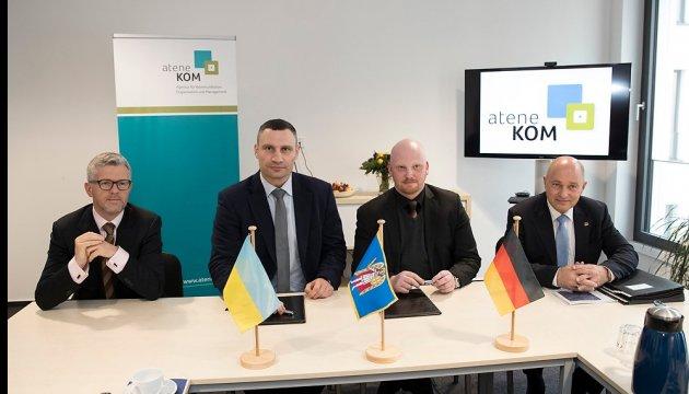 Kyiv Smart City: Кличко подписал меморандум с немецкой компанией