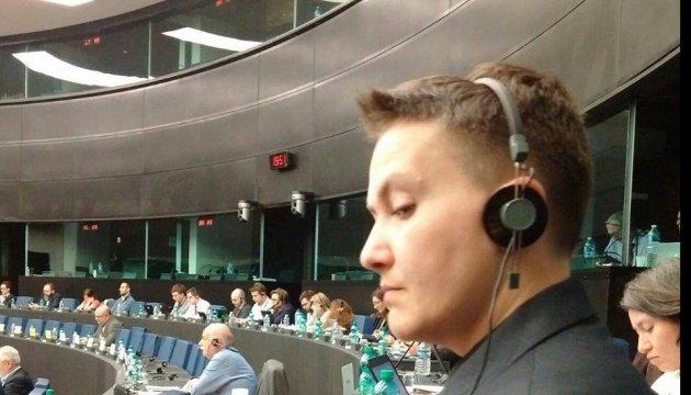 L'UE rappelle la primauté du Droit dans l'affaire Savchenko