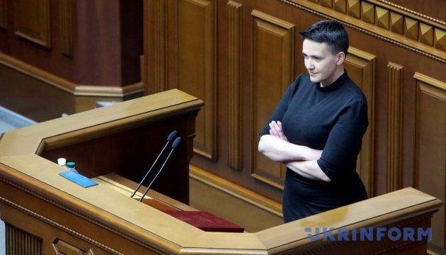 Nadia Savtchenko arrêtée par le Service de sécurité de l'Ukraine