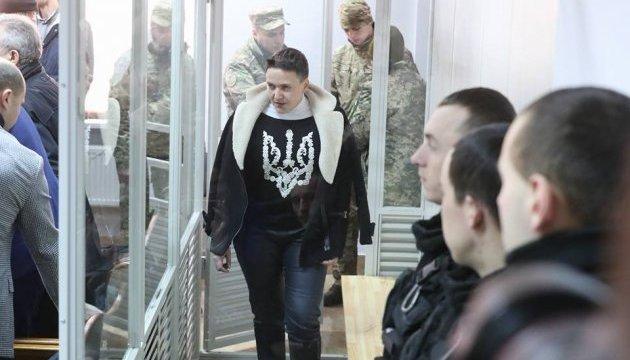 Суд отправил Савченко под арест