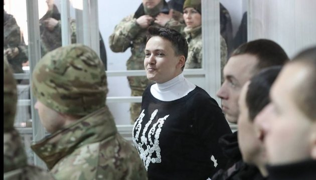 Savchenko a entamé une grève de la faim