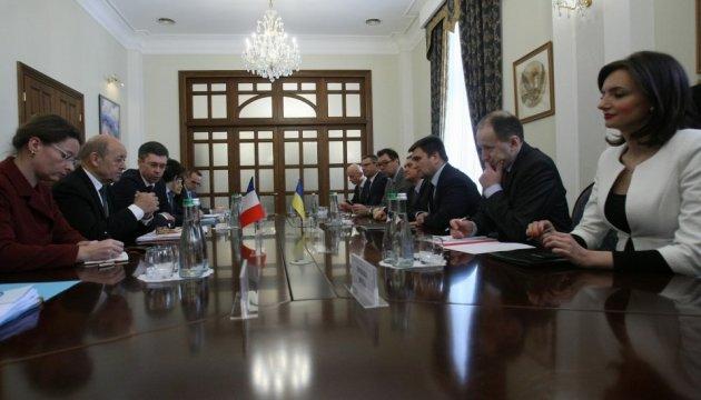 Клімкін хоче взяти на Донбас французького і німецького колегу