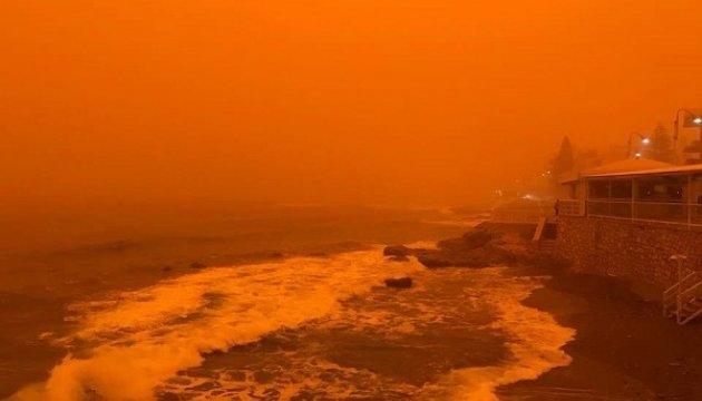 Греческий остров превратился в Марс