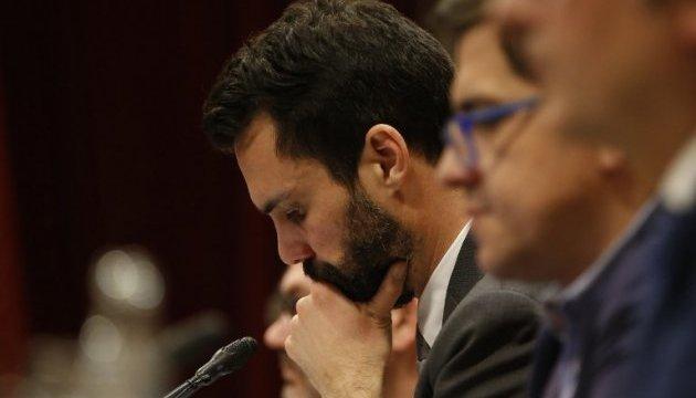 Единственного кандидата на главу правительства Каталонии могут арестовать