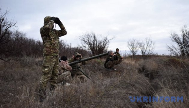 No casualties among Ukrainian soldiers in Donbas – Hutsuliak