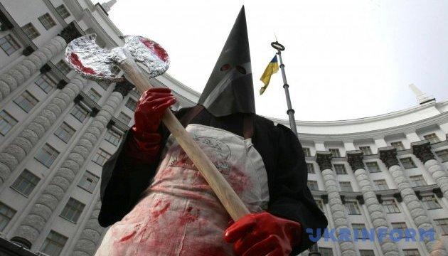 Арест Савченко, Рено в Киеве и палач под Кабмином