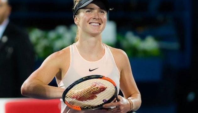 Теннис: Свитолина с победы над Осакой стартовала на турнире WTA в Майами