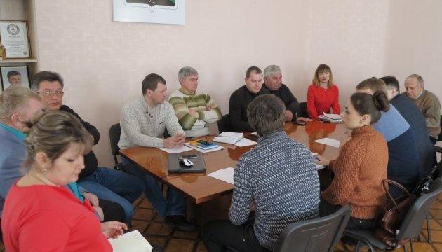 На Луганщині навчали розробляти стратегію розвитку громади