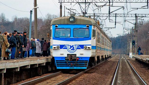 Модернізований приміський електропоїзд почав курсувати за маршрутом Київ — Тарасівка