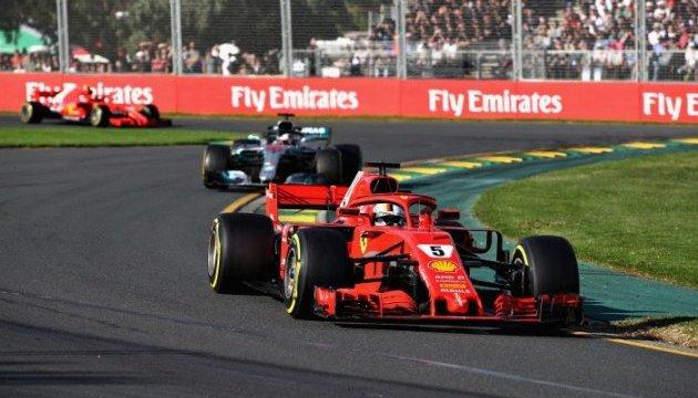 Формула-1: Феттель выиграл Гран-при Австралии