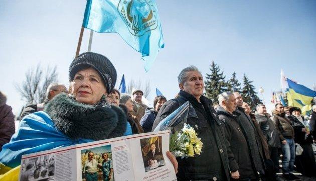 У Запоріжжі відкрили пам'ятну дошку В'ячеславу Чорноволу