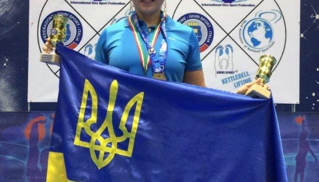"""Українська силачка виграла два """"золота"""" у Кубку Польщі"""