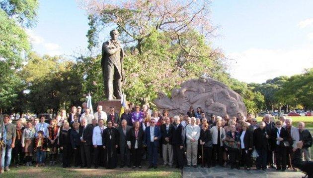 Українці в Аргентині вшанували пам'ять Тараса Шевченка