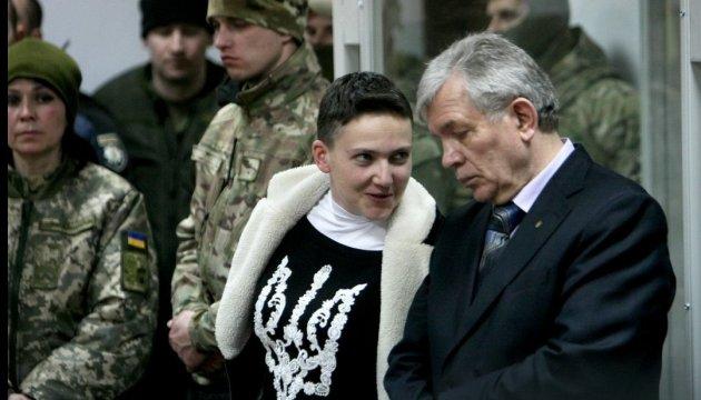 Les avocats de Nadia Savtchenko font appel