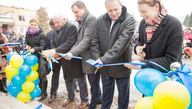 В ОТГ на Сумщині відкрили найбільш енергоефективну адмінбудівлю