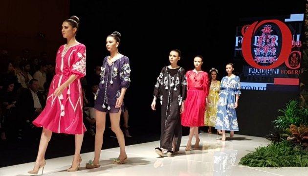 Вперше на Близькому Сході показали українську моду