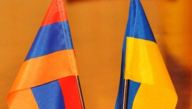 Le ministre de l'Intérieur ukrainien et l'ambassadeur arménien en Ukraine discutent de coopération en matière de sécurité civile