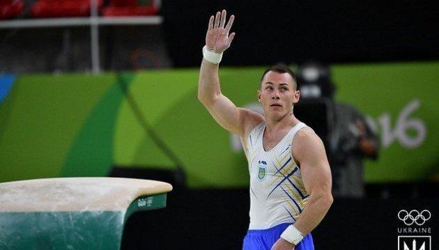 Ігор Радівілов - переможець серії змагань Кубка світу зі спортивної гімнастики
