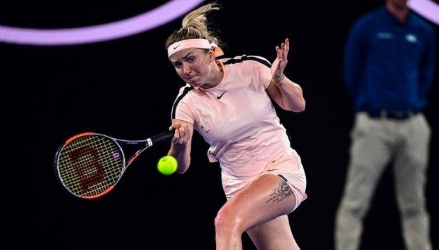 Свитолина уступила Остапенко место в полуфинале турнира WTA в Майами