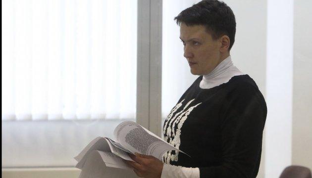 La justice rejette la demande de Savchenko de récuser les juges