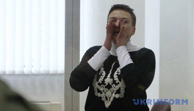 Savtchenko pourrait être hospitalisée