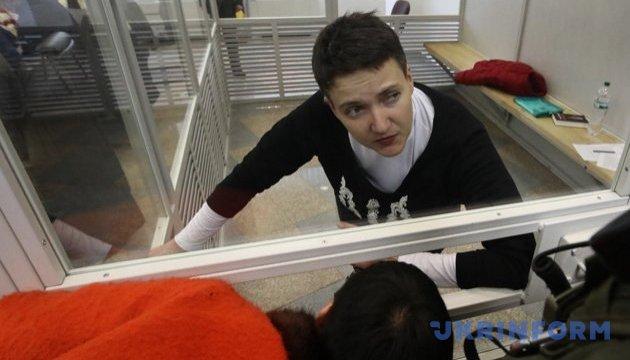 Court rejects Savchenko's request to recuse judges