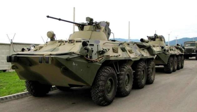 Окупанти перекинули військову техніку до Криму