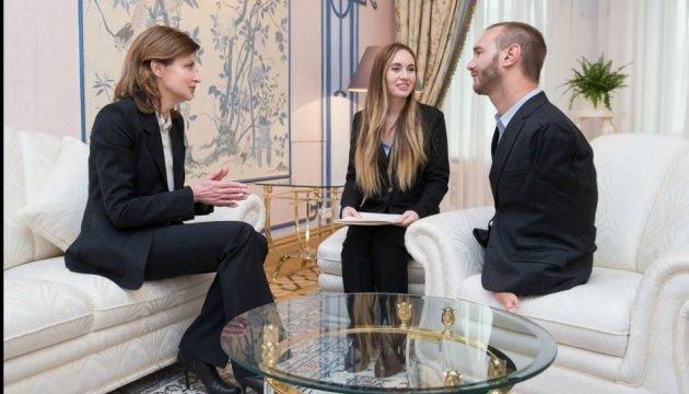 Перша леді України обговорила з Ніком Вуйчичем реформу інклюзивної освіти