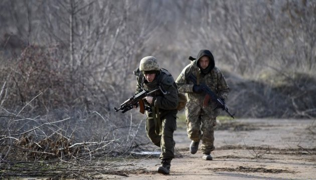 Militants launched 57 attacks on Ukrainian troops in Donbas in last day