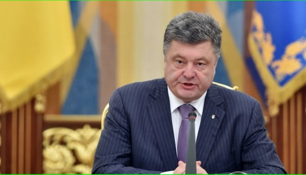 President Poroshenko: Supporters of Nord Stream 2 are Russia's accomplices in hybrid war