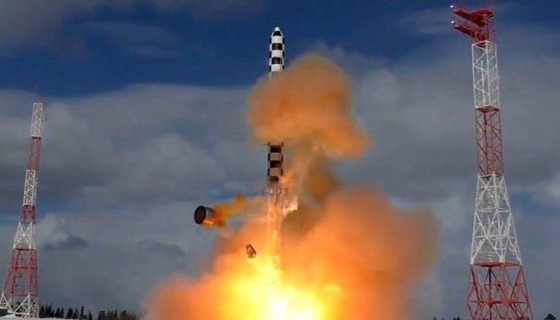 Rusia prueba el misil balístico intercontinental (Vídeo)