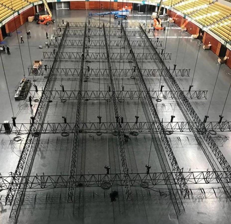 У Лісабоні почали монтувати сцену для Євробачення