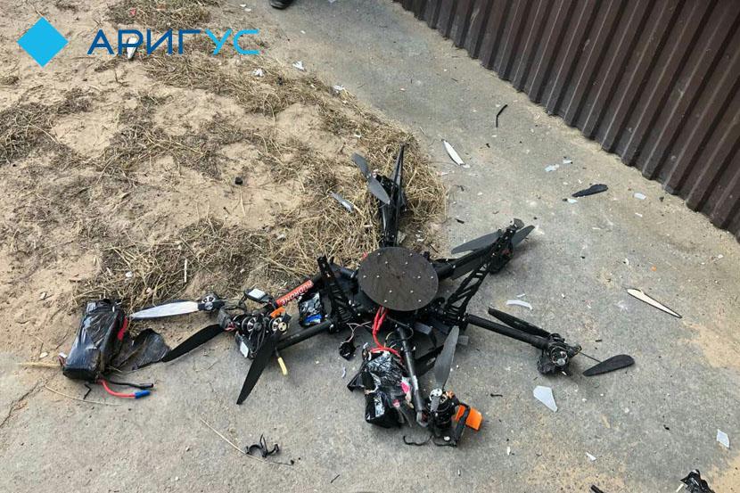 Безпілотник Пошти Росії розбився під час першого польоту