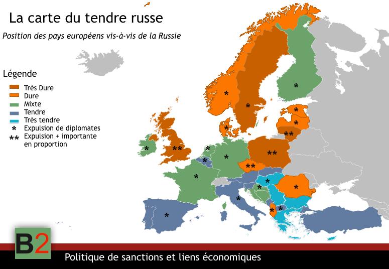 Carte Croatie Et Russie.Une Carte Des Relations Entre Les Pays De L Ue Et La Russie