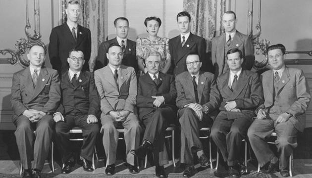 Українська делегація на Міжнародній Конференції в Сан-Франциско. Фото: tsdkffa.archives.gov.ua