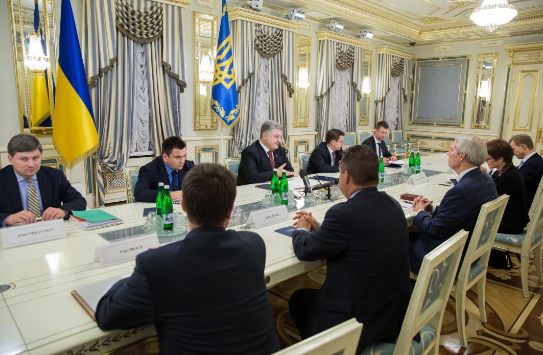 Порошенко Портман. Фото: president.gov.ua