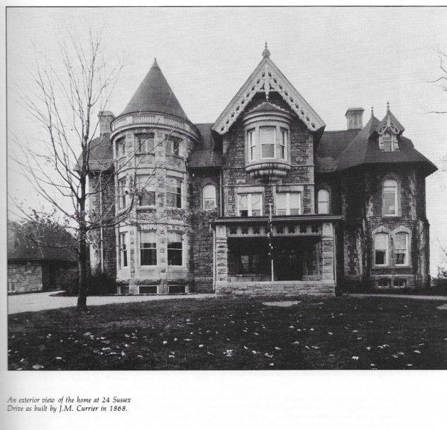 Вид оригинального дома, построенного в 1868 году / Фото: David McKie