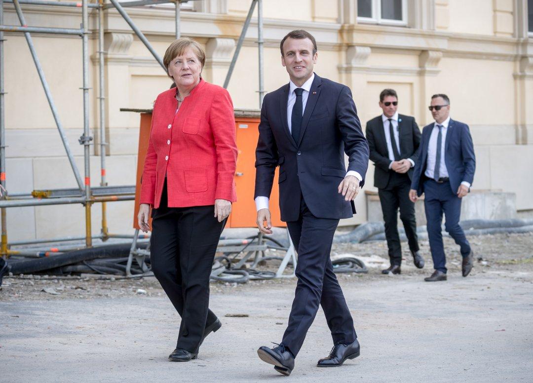 Меркель, Макрон / Фото: DPA