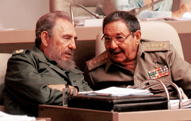 Фідель і Рауль Кастро