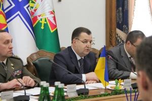 El ministro de Defensa de Ucrania se reúne con asesores estratégicos de los países miembros de la OTAN