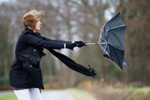 Синоптики попереджають про штормовий вітер на сході та півдні країни