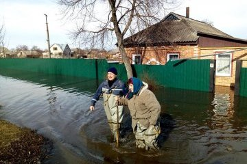 Over 440 houses flooded in Sumy region, Chernihiv